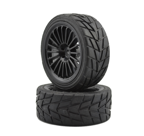 Get Quotations 1 10 Rally Racing Tire Run Flat Tires Abrasion Radiation Wheels
