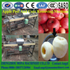 High technology Sweet apple peeling core removing slicing machine with cheap price