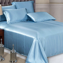 Silk Fabric Cooling Feel Good Quality Super Soft Silk Bedding Set