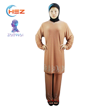19d2acc16e807 Türkiye'de Zakiyyah 120330 2018 yeni müslüman düğün zarif türkiye kadın  ofis elbiseler güzel yeni