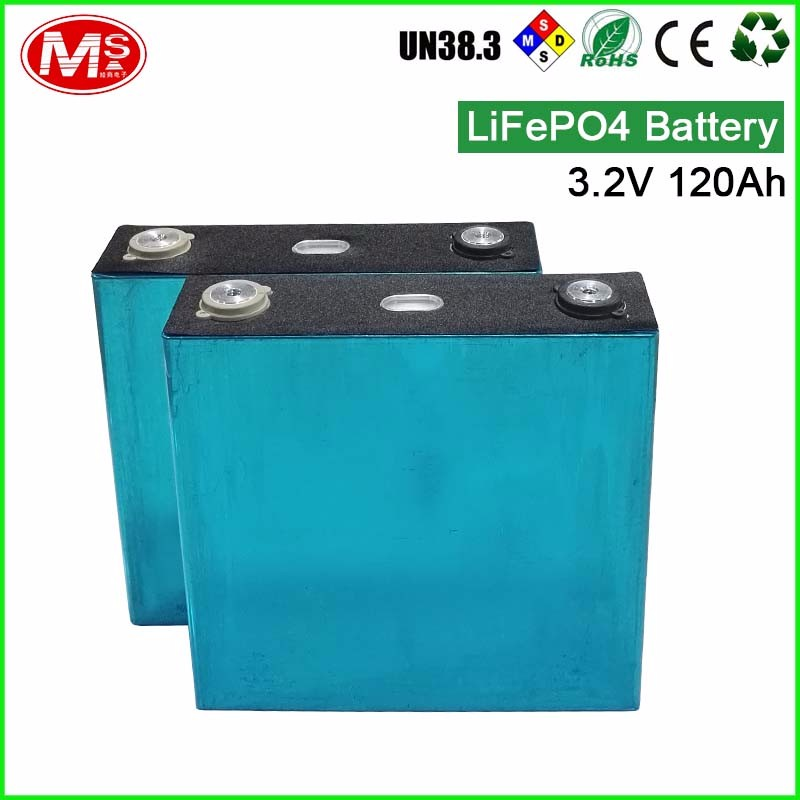 Factory price rechargeable lithium ion battery 3.2V 120Ah solar battery cell for home generator/UPS