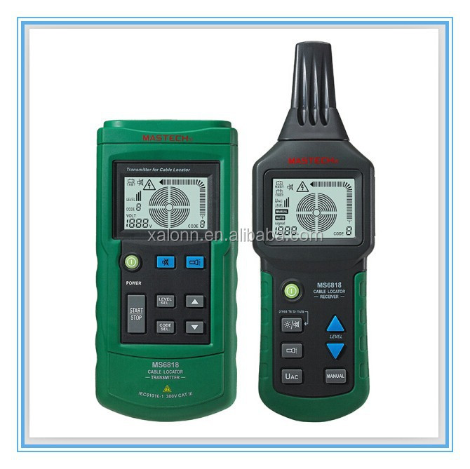 HOT SALE Mastech MS6818 Wire Cable Tracker ,Metal Pipe Locator, Detector Tester