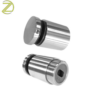 China Standoff Supplier Precision CNC Lathe Machining Service Stainless Steel Glass Spacer Round Led Standoff