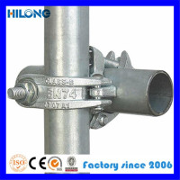 steel scaffolding components, scaffold pipe joint clamp