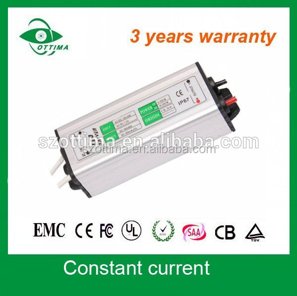 waterproof constant current 50w dc to dc led driver/electronics/high