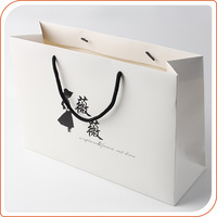 recyclable feature custom printing gift paper bag and birthday gift bag