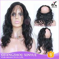100% virgin brazilian hair loose wave 360 lace closures frontal with cheap price