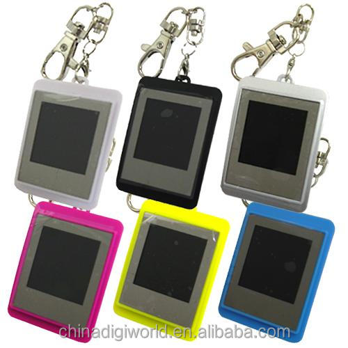 battery operated mini digital photo frame 1.5 inch