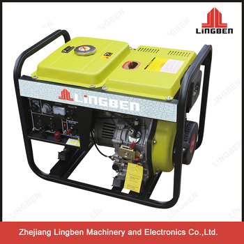 Lingben 5kw Diesel Welder Generator Lb186fa Engine 220v Used Diesel Welder  Generators For Sale Lb4000lnw - Buy Diesel Welder Generator,Welder Diesel