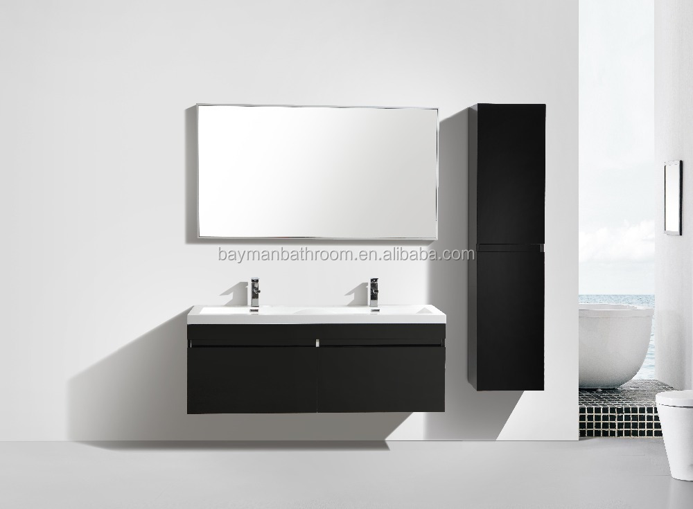 bathroom vanity only,bathroom vanity one sink,bathroom vanity open shelf (Inspire-1440)