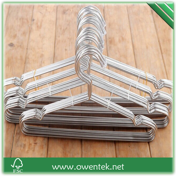 Clothes Hangers Baby Metal Iron Hangers Chrome Hanger