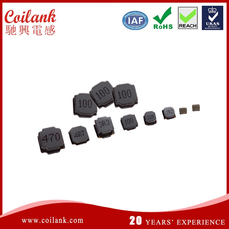 high current shielded smd power inductor anti shake anti crack