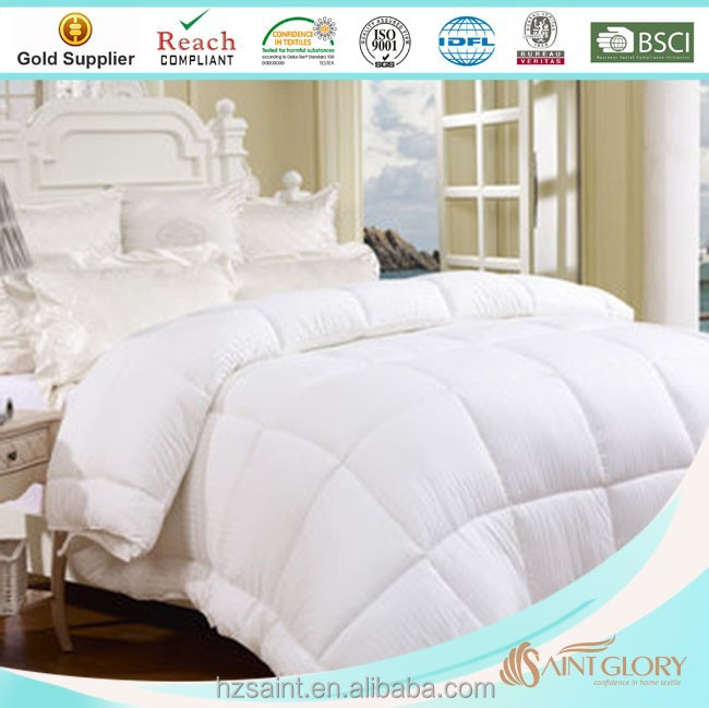 cheap washable 9.0 TOG vacuum packing comforter