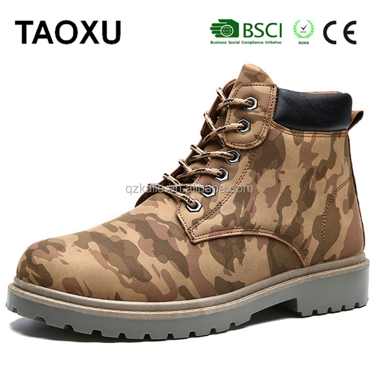 2017 new arrival antistatic work shoes safety men army boots safety combat footwear