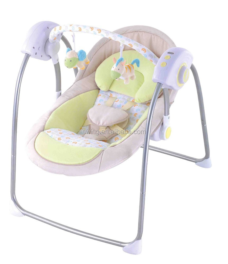 Baby Schommelstoel Automatisch.Automatische Swing Baby Elektrische Baby Wieg Schommel Baby Schommel En Elektrische Schommel Bed Baby Wieg 2 Posities Van De Zitting Buy Elektrische