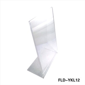 L Shape Acryl Sign Tag Holder Display Stand Clear A3 A4 A5 Acrylic Menu Holder