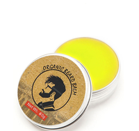 Private Label And Stock Supply Beard Wax Balm In Hair Styling Products
