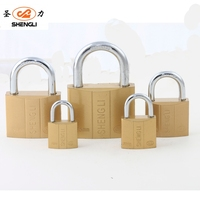 IMITATE BRASS ATOM PADLOCK CHEAP BRASS PAINTED PAD LOCK