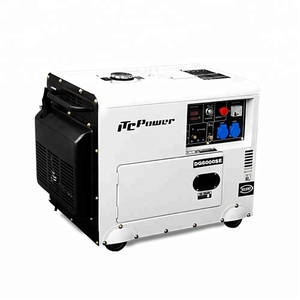 5kW portable type home use diesel silent generator