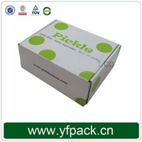Shipping and packaging hard paper corrugated custom clothing box
