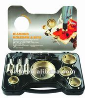 10pcs Diamond Hole saw Bits Set 5/8