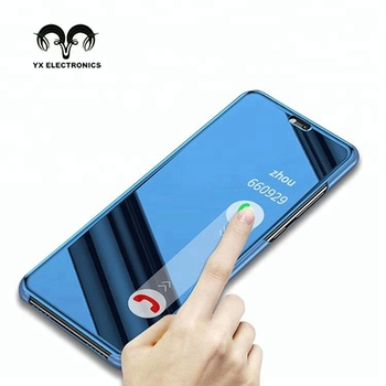separation shoes b4959 2123e Smart Chip Mirror Clear View Standing Flip Cover Case For Huawei P20 Pro  Lite - Buy Smart Case,Smart Case For Huawei P20,Smart Cover For Huawei P20  ...