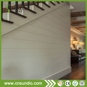 Environmental residential parallel shiplap wall decorative paneling