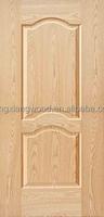 Natural Red Oak Veneer Door Skin/HDF Molded Door Skin