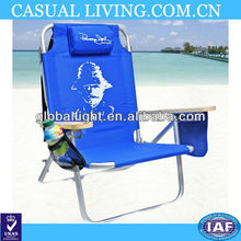 5 pos. Lay Flat Beach Chair by Panama Jack