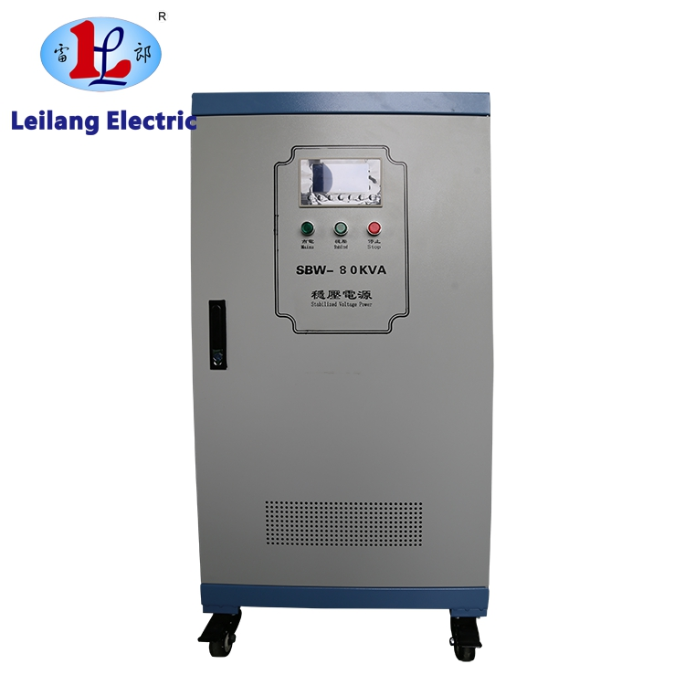 Power regulator 400V to 220V automatic voltage stabilizer 100kva for the laser cutting machine