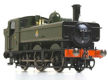 O scale model train steam locomotive