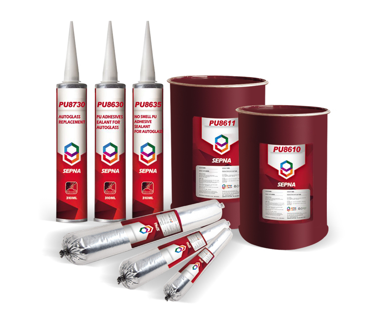 PU Windscreen Sealant for Auto Glass Bonding (8630) One Part, Primerless