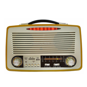 Plastic radio USB TF AUX radio KEMAI radio MD-1700BT