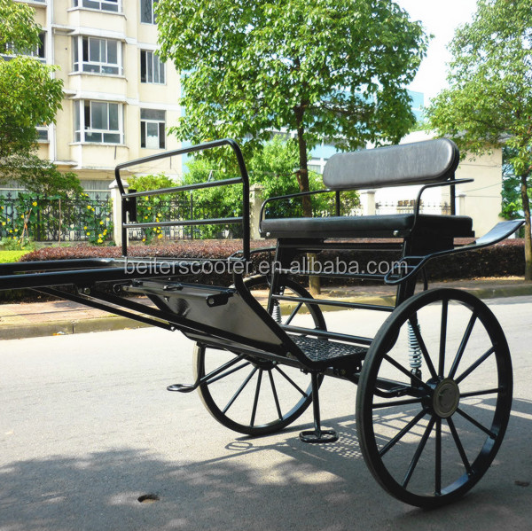 Luxury two-wheel horse carriage