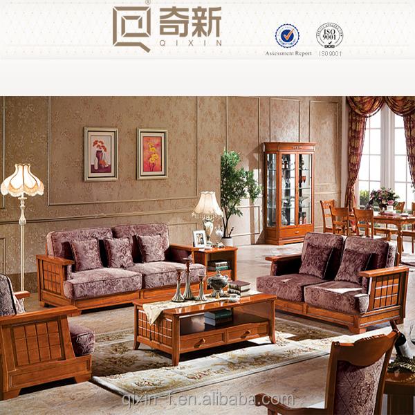Buy Living Room Sets: Solid Wood Furniture American Style Living Room Sofa Sets