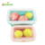 BPA FREE silicone foldable lunch box airtight container