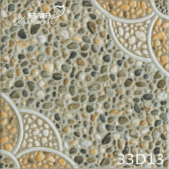 Attrayant Decorative Garden Edging Stone Ceramic Floor Tile (300x300mm)