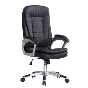 220BLS Capacity Good Performance Black White Beige Brown Red Color PU Leather Office Chair Leather Chair Office