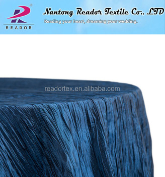 mariage bleu marine taffetas froiss 120 nappe ronde buy nappe en taffetas froiss bleu. Black Bedroom Furniture Sets. Home Design Ideas