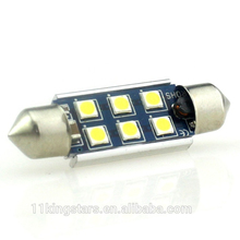 High-end-licht für Amerikanischen markt c5w led canbus 39 MM 3030 6SMD 12 V-24 V auto led leselampe 3535 6led canbus girlande led