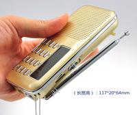 portable mini speaker MP3 player AM FM radio speaker