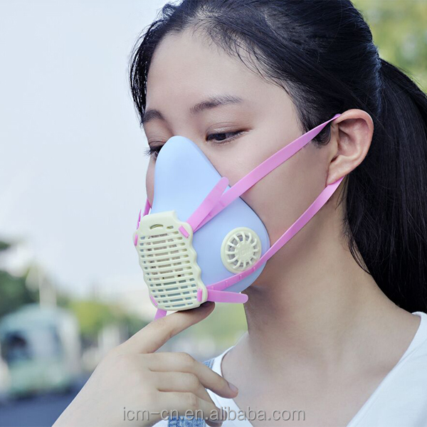 Cute female mask it can be used as dust mask,antimicrobial mask,filter mask