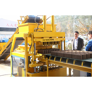 full automatic hydraulic clay interlocking brick making machine for sale