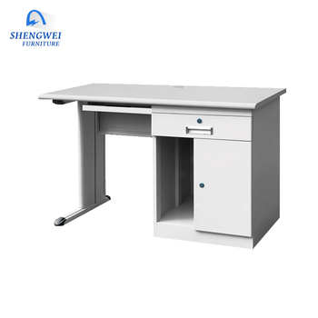 Merveilleux Simple Design Customized Steel Computer Desk Table Office Study Table With  Drawer And Cabinet   Buy Study Table With Drawer And Cabinet,Office Study  ...