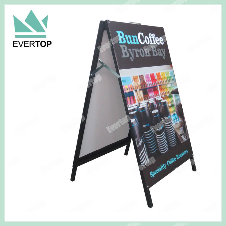SH-N09B Cafe Write-on Blackboard A-Boards, Black board A Board, Chalk Board A Board