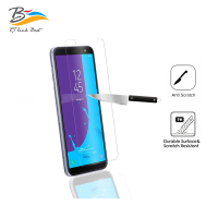 Waterproof anti fingerprint 2.5D curved tempered glass screen protector for Samsung J6 2018