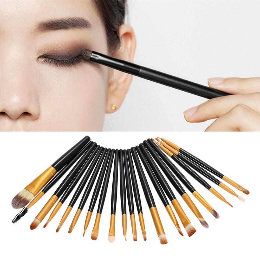 Brushes for eye makeup