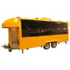 China standard churros bbq mobile fast food cart trailer for sale