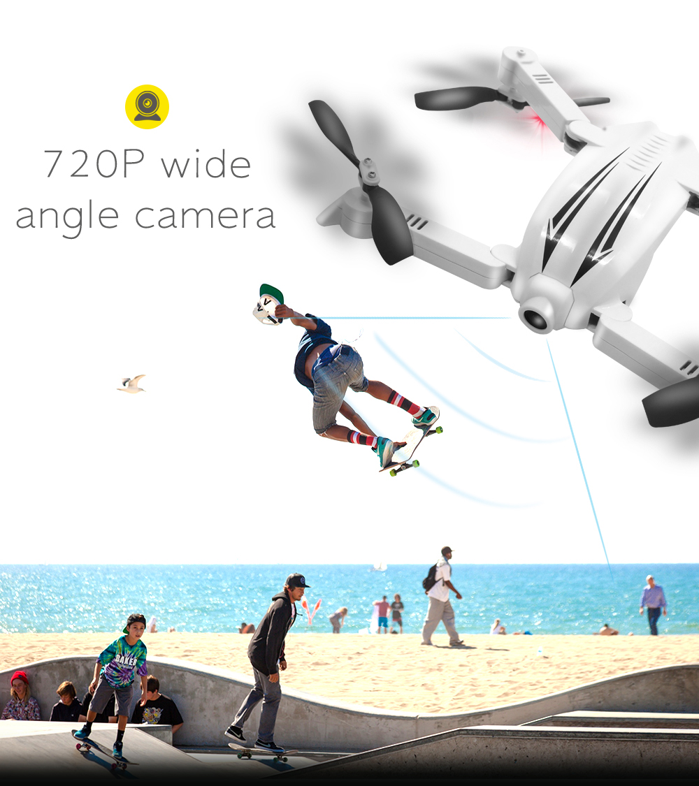 New Flytec T13 Wifi FPV 720P Wide Angle Camera Drone (WITHOUT CONTROLLER) RC Flying Drone Foldable Selfie Drone VS JY018 Dron