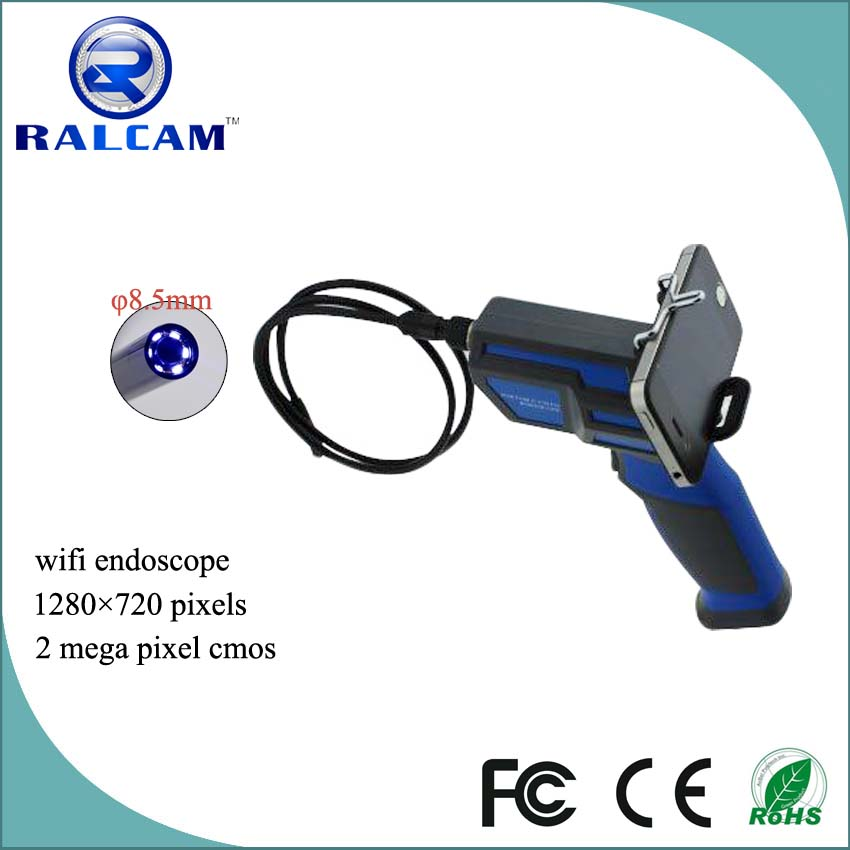 2 mega pixels 6~10cm DOF wifi 0 degree endoscope
